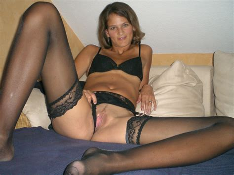 Amateur In Stockings Set