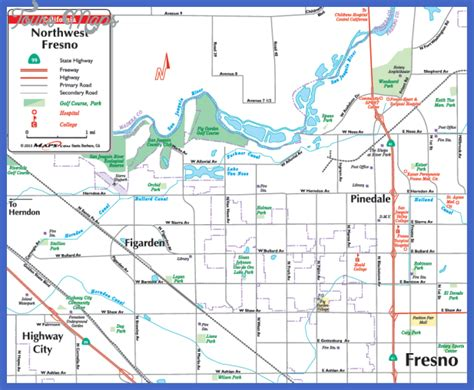 fresno on california map fresno map map travel vacations