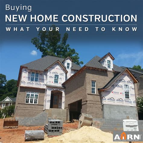 What To Know When Building A New House | what you need to know when buying new home construction