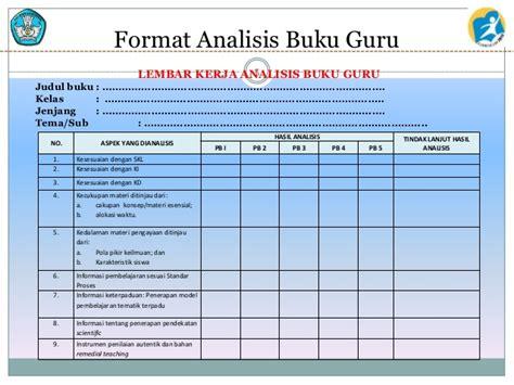 format analisis beban kerja polri 2 4 analisis buku guru dan siswa tematik rev