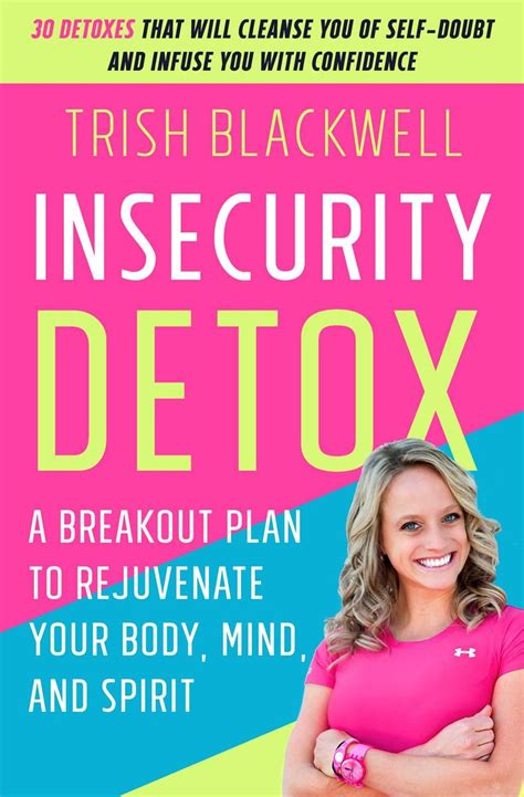 Detox Anxiety by Insecurity Detox Books Insecurity And Detox