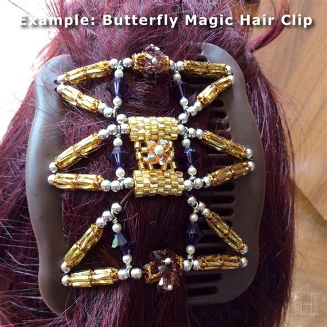 Hairclip Magic Clip butterfly magic hair clip diy how to make