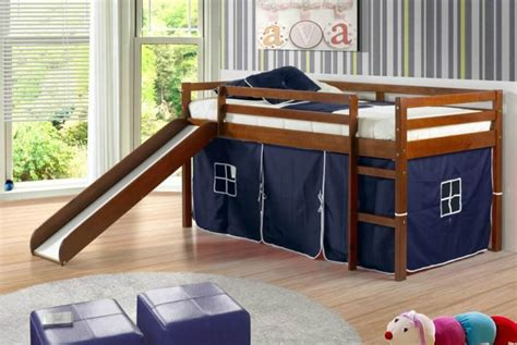 kid bed with slide top 10 kids loft beds with slides