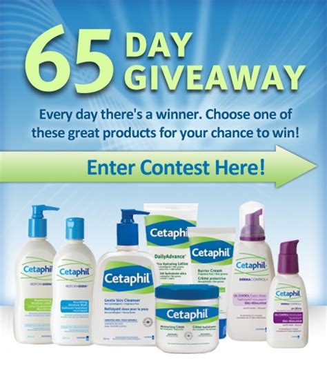 Giveaway Canada - cetaphil contest giveaway canada