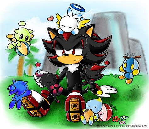 Sonic Chao Garden by Shadow The Hedgehog In A Chao Garden Sonic Shadow The Hedgehog I Wish And Memories