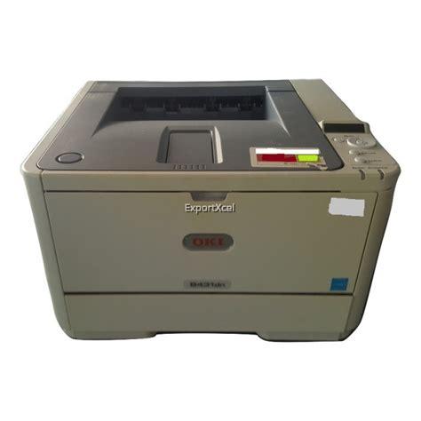 Toner Oki B431dn Used Oki B431dn A4 Mono Laser Printer Without Toner