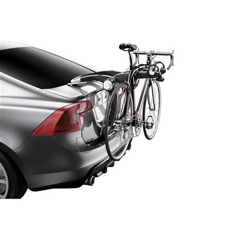 porta bici x auto porta bici posteriore thule raceway x2 991 per 2 bici