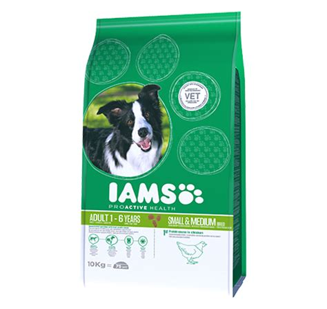 iams small breed puppy food iams proactive health small medium breed rich in chicken pet food for cat dogs