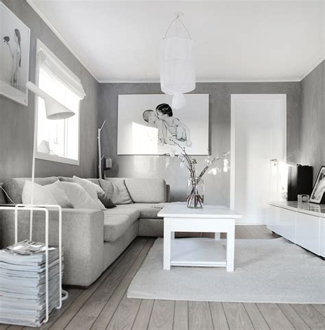 25 Fotos De Decoraci 243 N De Salas Modernas Peque 241 As Grey Grey White Living Room