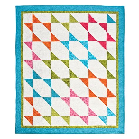 accuquilt go fabric cutter half square 4 quot finished