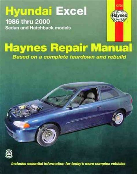 vehicle repair manual 1993 hyundai excel free book repair manuals hyundai excel 1986 2000 haynes service repair manual sagin workshop car manuals repair books