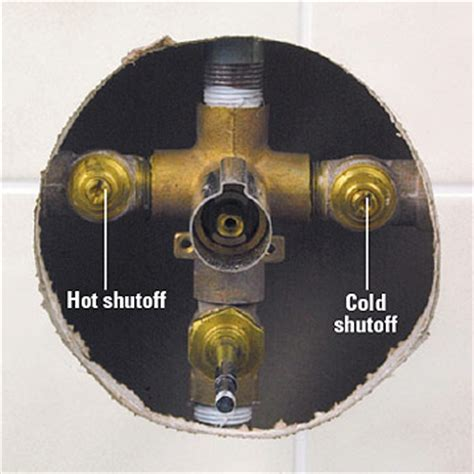 shutting the water plumbing basics diy plumbing