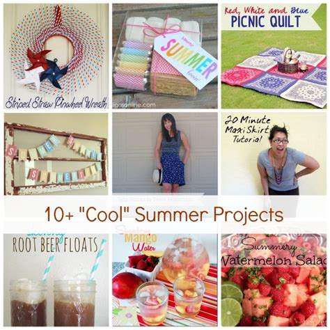 show tell no 55 summer craft and diy projects tauni co