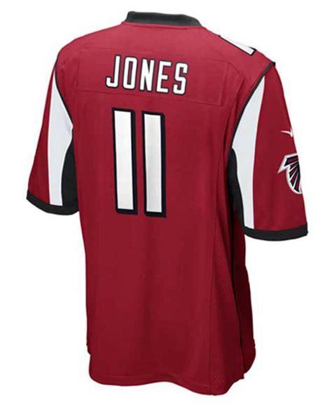 julio jones jersey nike men s julio jones atlanta falcons game jersey in red for men lyst