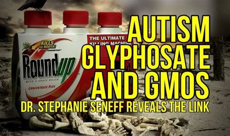 the link between glyphosate and autism