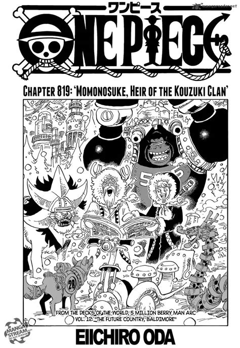 anoboy one piece 819 read one piece chapter 819 mangafreak