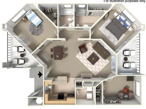 2 Bedroom 2 Bath Apartments by Boulders On The River Apartments In Eugene Oregon