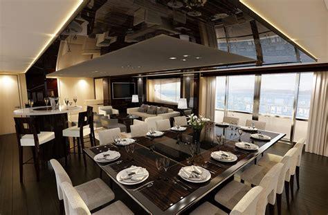 di lusso interni yacht di lusso interni da sogno per un maestoso 47 metri