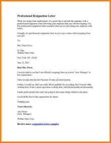 Resignation Letter Finance Manager 5 Letter Of Resignation Sales Assistant Letter Format For