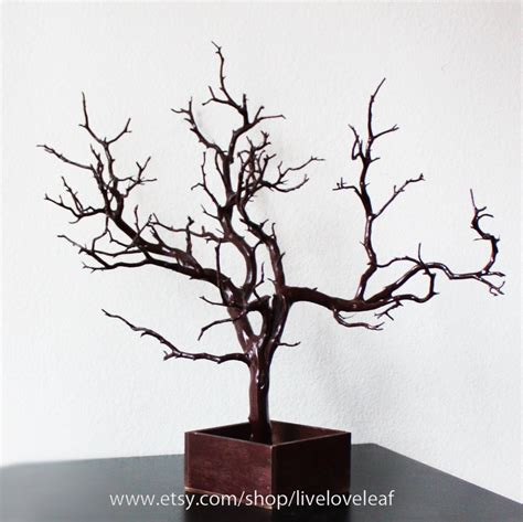Brown Painted Manzanita Jewelry Tree Jewelry by LiveLoveLeaf