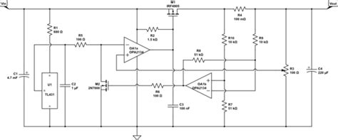 lm358 shunt resistor design how to test and rate a home built low dropout regulator electrical engineering stack