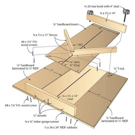 hybrid woodworking pdf sweet hybrid table saw jig jigs