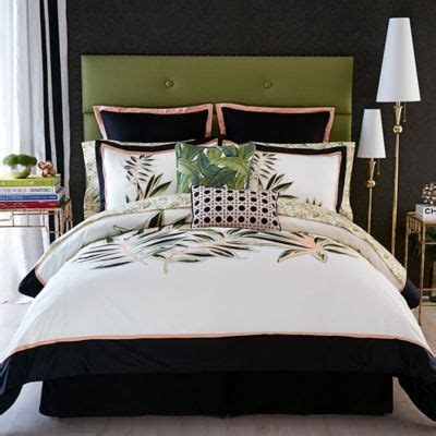 christen the bed christian siriano tropical paradise comforter set bed bath beyond