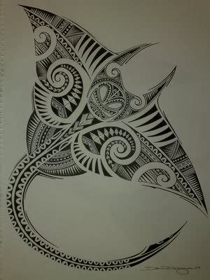 marvelouse polynesian tattoo design