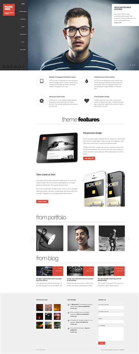 elegant themes page builder responsive new premium responsive wordpress themes wordpress themes