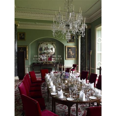 Country Dining Room Set The Dining Room At Clandeboye House From The Archives Of