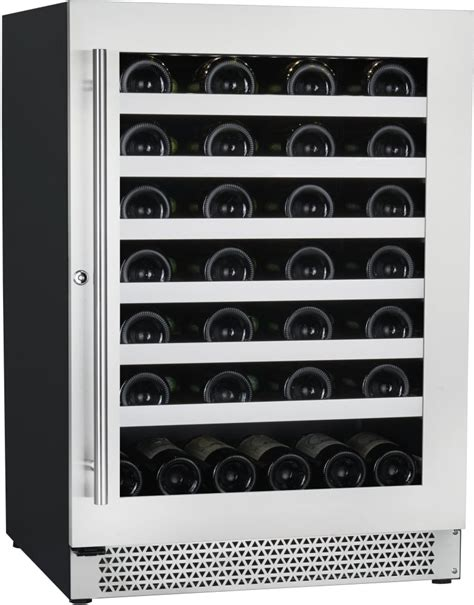 24 inch counter wine cooler cavavin v048wsz 24 inch counter depth wine cooler with