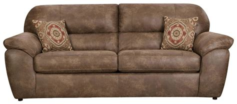 plush leather sofa bed corinthian 18a0 casual plush sofa vandrie home