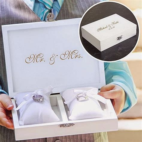 alternative to wedding ring cushion 7 wedding ring bearer pillow alternatives