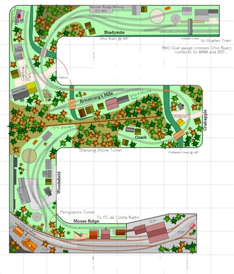 Track Layout Software Reviews   anyrail track planning software modelrailroader com
