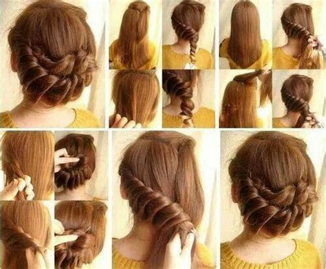 how to make beautiful and easy hair styles peinados con trenza faciles imagui