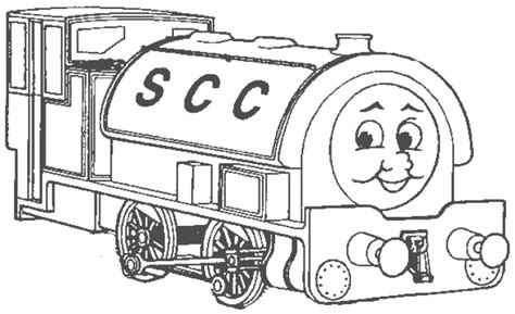 coloring page thomas and friends coloring pages 10