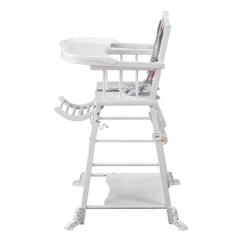 chaise haute transformable chaise haute transformable laqu 233 blanc combelle design b 233 b 233