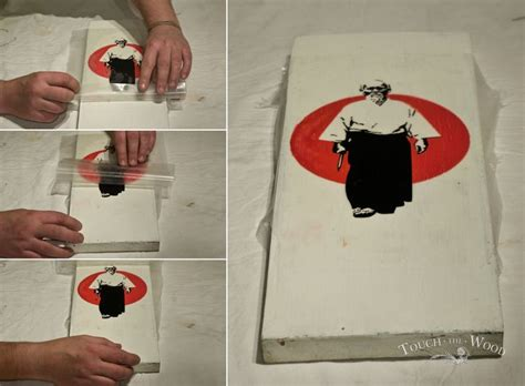 Wedding Bell Guitar Tutorial by How To Transfer Print Onto Wood Pva Glue Mod Podge