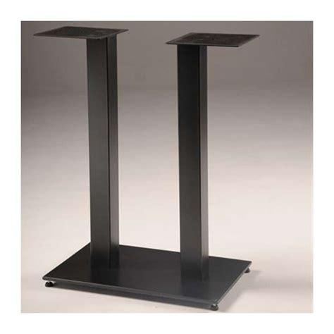 table pied central pied de table central square 650 4 pieds tables