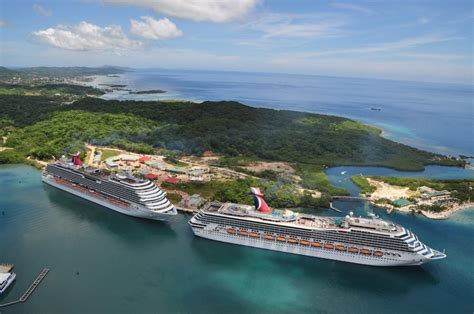 roatan bay islands honduras cruise mahogany bay carnival cruise ship roatan honduras