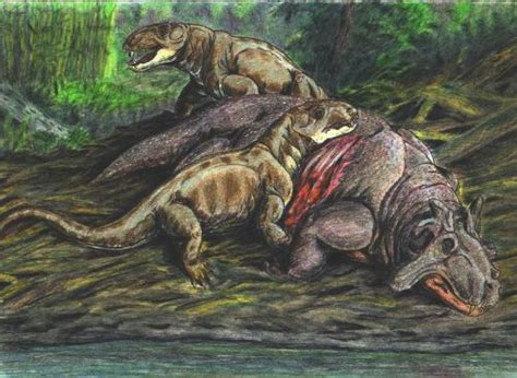 dinocephalians therapsids images