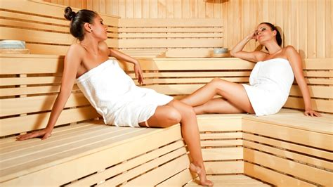 sauna in in sauna improving and repairing skin wallpaper