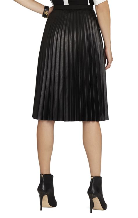 elsa sunburst pleated skirt