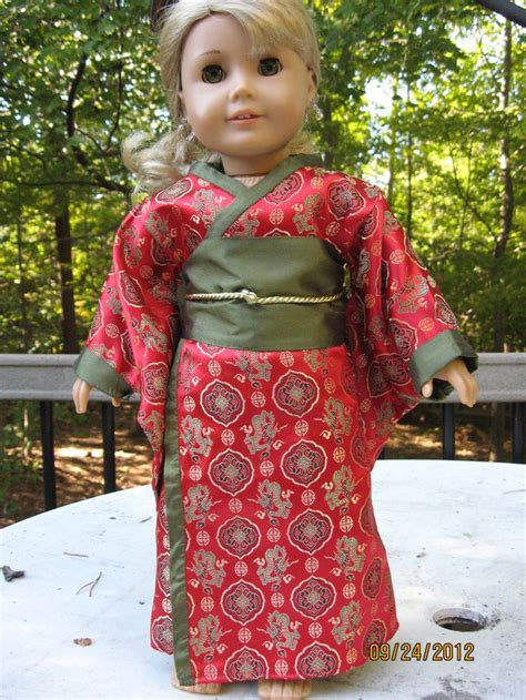 kimono pattern for 18 doll 17 best images about american girl international costumes