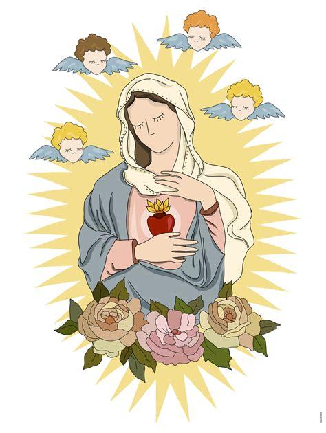 tattoo sagrado coração de jesus e maria nossa senhora sagrado cora 231 227 o de maria i sagrada