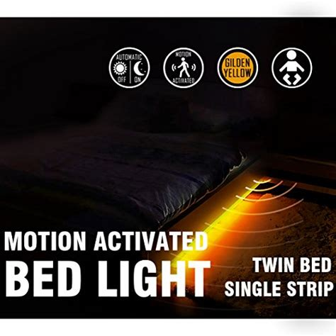 motion sensor under bed light motion activated bed light emotionlite led motion sensor