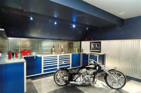 furniture blue color for great garage storage system interior design idea garage storage