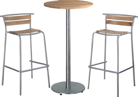 Table And Stools by Outdoor Dining Room Decoration With Table Teak Wood Bar
