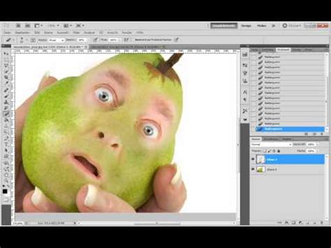 tutorial photoshop 7 0 youtube photoshop tutorial fotomontage obstgesicht youtube