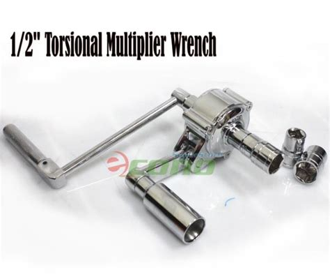 Labour Saving Lug Wrench Set Uk 20 X 38 Mm American Tool 1 2 quot torsional multiplier wrench lug nut remover